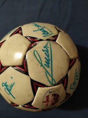 Pallone originale AC MILAN Select 1989/90 AUTOGRAFATO! 3