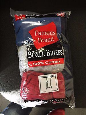 Fruit Of The Loom  9 Pk Boxer Briefs-Men In Famous Brand All-Asst 3
