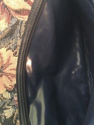 Vintage Jaguar Bag Carry On Tote Travel Luggage Overnight Tapestry Floral 8