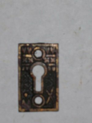 Antique Eastlake Victorian Key Hole Cover 2