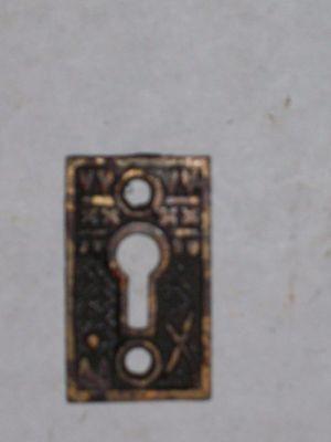 Antique Eastlake Victorian Key Hole Cover