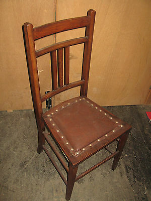 Antique Edwardian Childrens Dining Chair Collection Only 2