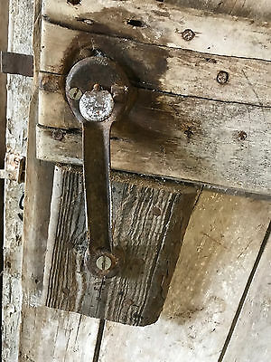 "Antique Barn Wood Door 77 3/4"" x 31 1/16"""