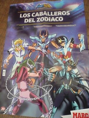 Lote 31 Dvd Los Caballeros Del Zodiaco+Poster,Infierno,Santuario,Eliseos (Nuevo) 12