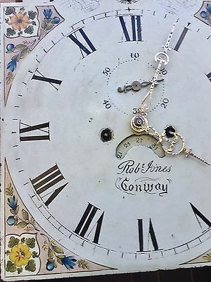 Oak And Mahogany Cross Banded Longcase /grandfather Clock With Rolling Moon 11