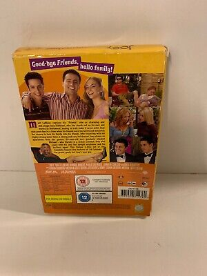 Joey - The Complete First Season (DVD, 2005, 3-Disc Set) Spin off FRIENDS Sitcom 2