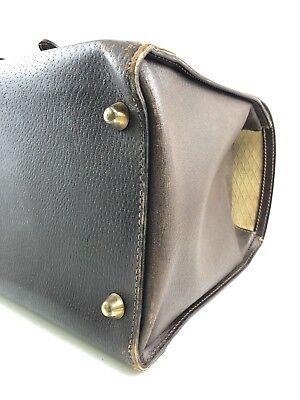 22f5b1246f1 ... Gucci Bag Travel Luggage Leather Web Super Rare Vintage 1960 Usato  Originale 7