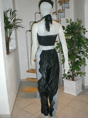 Ultra Soft Pvc Sauna Schwitz Hose Jogginghos Jogging Trousers L & Xl