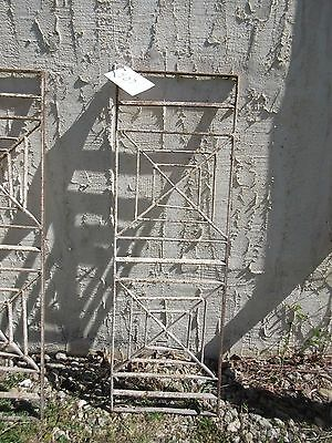 Antique Victorian Iron Gate Window Garden Fence Architectural Salvage Door #407 4