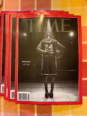 TIME MAGAZINE-2020-KOBE BRYANT (1978-2020)-Final Bow On Court- Tribute- 3