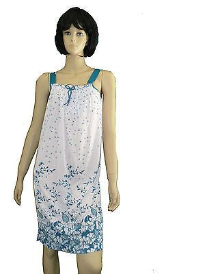 139be902db746d ... sommerliches Damen Nachthemd kurz Träger Gr.M-XXXL luftig Schlafshirt  BW 2
