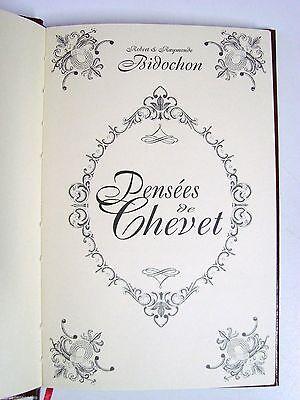 Les Bidochon Par Binet Pensées De Chevet / Livre