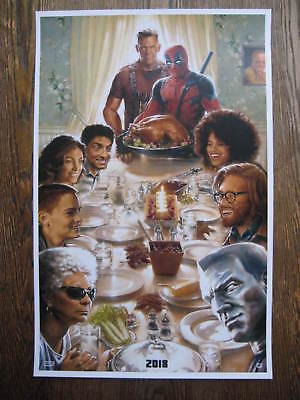 """DEADPOOL 2 T9 Movie  Collector/'s  Poster Print  - -  B2G1F 11/"""" x 17/"""""""