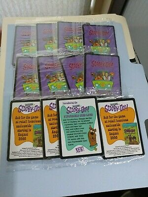 SCOOBY DOO Expandable Card Game extra cards play 18 cards NIP