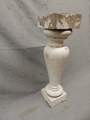 1 Antique Large Architectural Porch Baluster Shabby Spindle Chic Vtg 982-17P 6