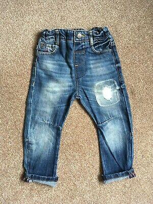 Angel & Rocket Distressed Denim Blue Jeans, size 3 years. 3