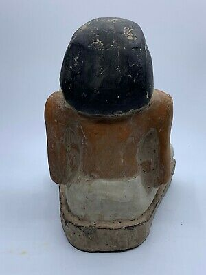 ANCIENT EGYPT EGYPTIAN GOD ANTIQUES Statue Pharaoh Crved Stone BC 5