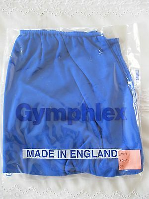 "Ladies XL GYMPHLEX PLAIN 100% Quality Nylon Full Sports Briefs (W 30-38"") NEW! 7"