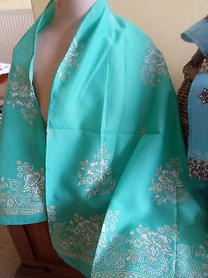 3 NEW Colourful Mixed Fibre Ethnic Scarves Ladies Scarf ~ Xmas Gift Idea  #33 2
