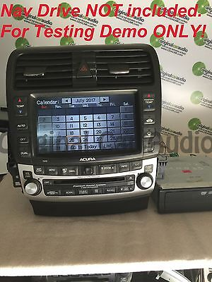 2010 acura tsx navigation screen