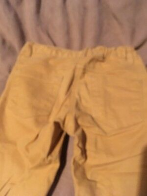 Next Girls Yellow Trousers Size 8 Years Great Condition 4