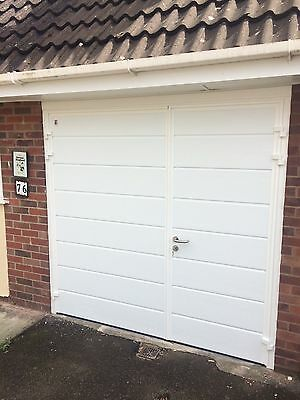Designer Insulated Side Hinged Garage Door Steel Side Hung Opening