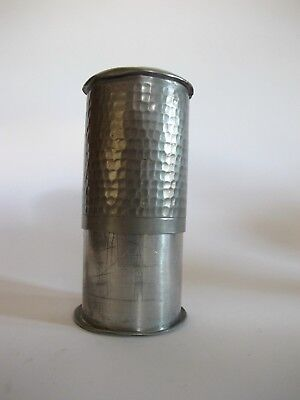 RAR ältere Zinn Dose mit Stempel BANGKA Tiwrk T.H.P. Aufbewahrungsbehälter 3