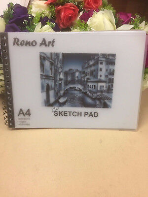A4 Sketch Pad 140gsm Atrist Painting Art Paper Sketchbook  Drawing Craft Pastel 3
