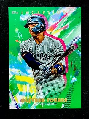 2020 Topps INCEPTION - GREEN Parallel Base Cards - U Pick to Complete Your Set!! 5