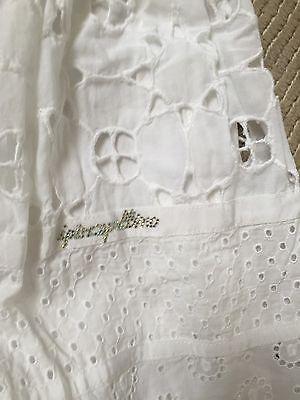 White Designer Summer Dress 6years 2