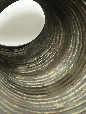 Large Ancient Near East Bronze Coiled Spiral Bracelet EX-PISCOPO COLLECTION 6