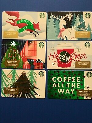 "Starbucks gift card 2019"" 36 CHRISTMAS GIFT CARDS "" MINT NO VALUE 36 Cards 🎅 5"