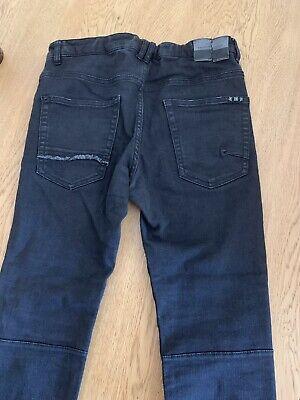 Zara Kids Boys Jeans Size 11/12 Years 152cm Black Skinny 4