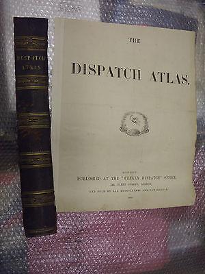 Algeria Tunis circa 1863 Dispatch AtlasEngraved by E.Weller-31x43cm Framed20more