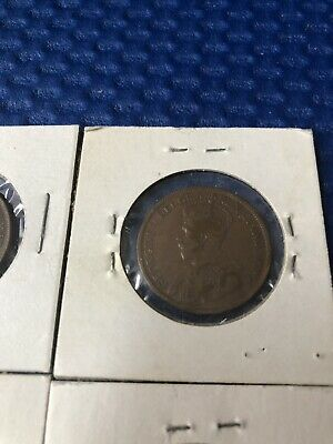 Lot Of 4 Canada Large Pennys  1914, 1916, 1919 & 1920 9