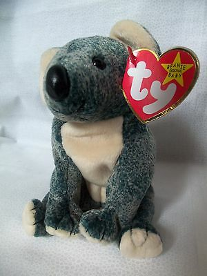 TY Beanie Babies Koala Teddy Bear  ** EUCALYPTUS ** 5th Generation New w/ Tag