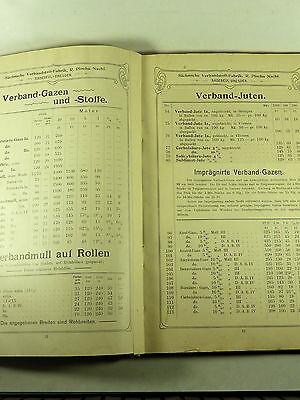 Buch Katalog Sächsische Verbandstoff Fabrik Dresden Radebeul Ploehn Von 1902 5