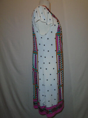 ECI Womans Multi Color Floral Beaded Dress Size 10 8