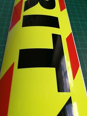 SECURITY MAGNET DOG HANDLER MAGNETIC SIA CHEVRON DAYGLO Sticker 620mm 3