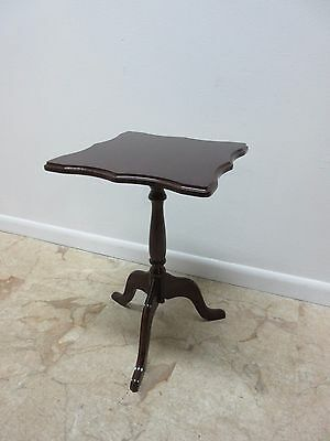 Bombay Company Cherry Lamp End Table Pedestal Stand 3
