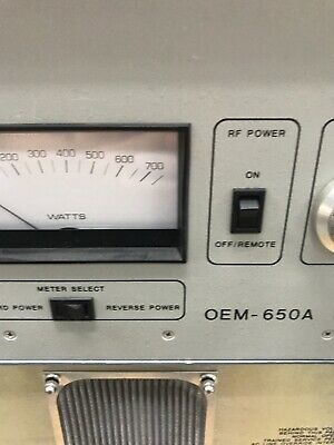 OEM-650A ENI OEM-6A-11491-51 Solid State Power Generator, RF AWD-D-3-5-006 5
