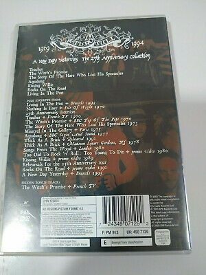 Jethro Tull a New Day Yesterday 1969-1994 - 25TH Anniversary Collection - DVD Am 3