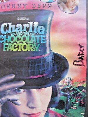 Charlie and the Chocolate Factory (DVD, 2005, Full Frame) 2