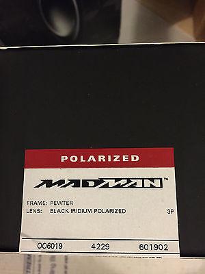 de2e698195 2 of 5 NEW Oakley - X-Metal Madman - Pewter   Black Iridium Polarized