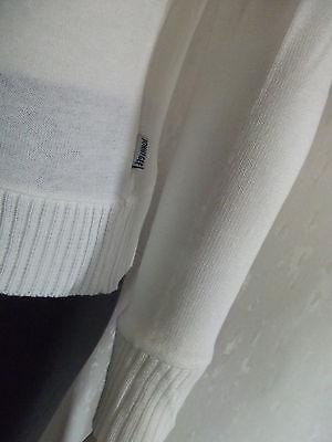 Schicker Damen-Pullover Pulli Langer Arm  JOHN F.GEE Weiß  Gr.40//42  NEU OVP