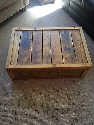 Vintage Pine Chest/crate 5