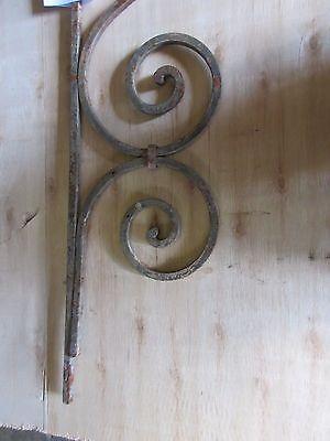 Antique Victorian Iron Gate Window Garden Fence Architectural Salvage #885 4