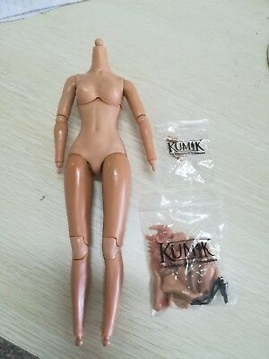 "KUMIK 1:6 Female Suntan Body Model Scale Extra Accessory For 12/"" Figure Toy"