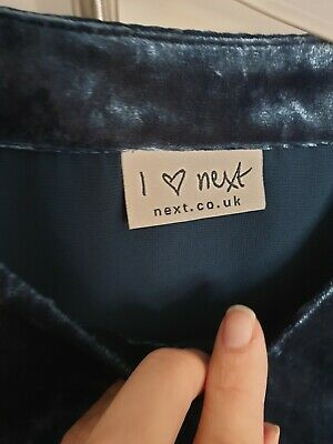 next girls velour playsuit immaculate aged 7 years 2