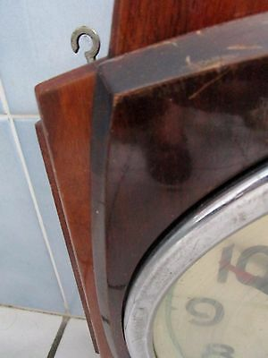 Antique Large Pendulum Mechanical murale-Jaz-8 Days-Art Deco of Community 6